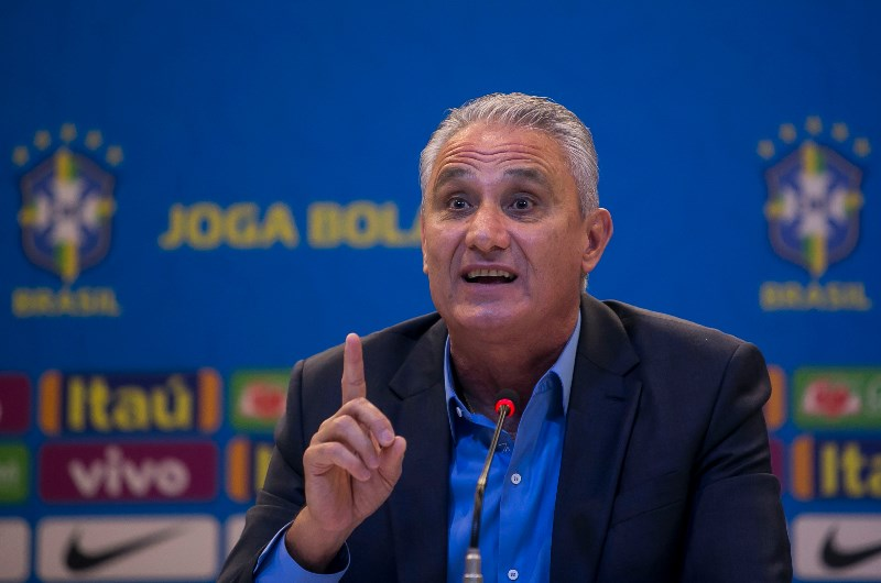 Brazil head coach Tite carries the weight of a nation on his shoulders as he looks to deliver the Copa America on home soil. (Getty Images)