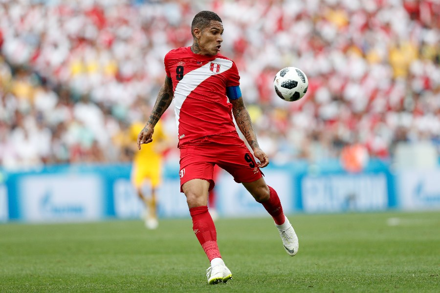 Paolo Guerrero has starred for Peru in recent Copa America tournaments and can provide inspiration for his country in 2019. (Getty Images)