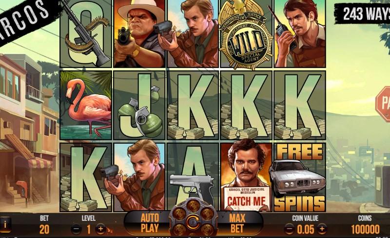 Narcos Slots Screenshot