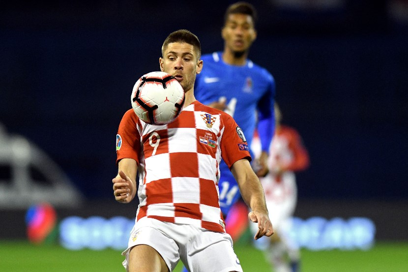 Andrej Kramaric has scored three times in his last four appearances for Croatia. (Getty Images)