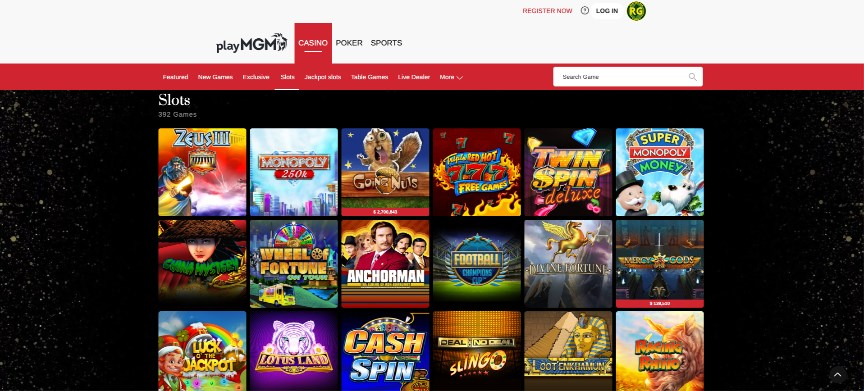 playMGM Casino Review