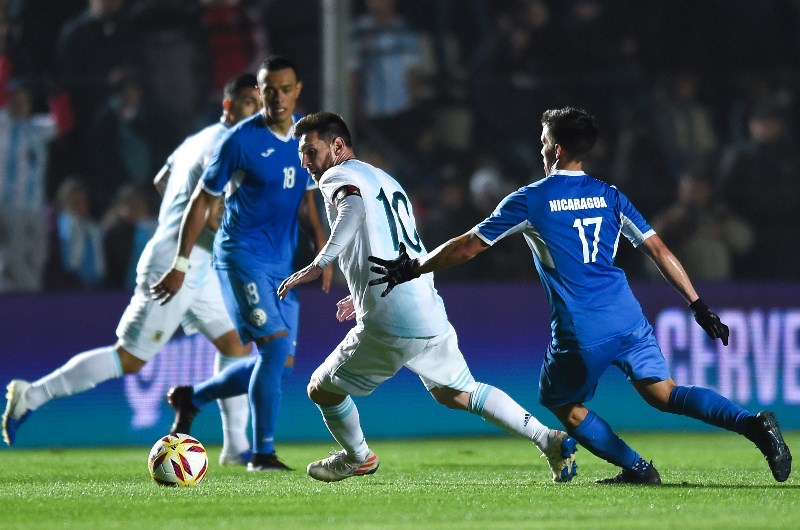 Lionel Messi can lead from the front for Argentina with his wizardry on the ball. (Getty Images)