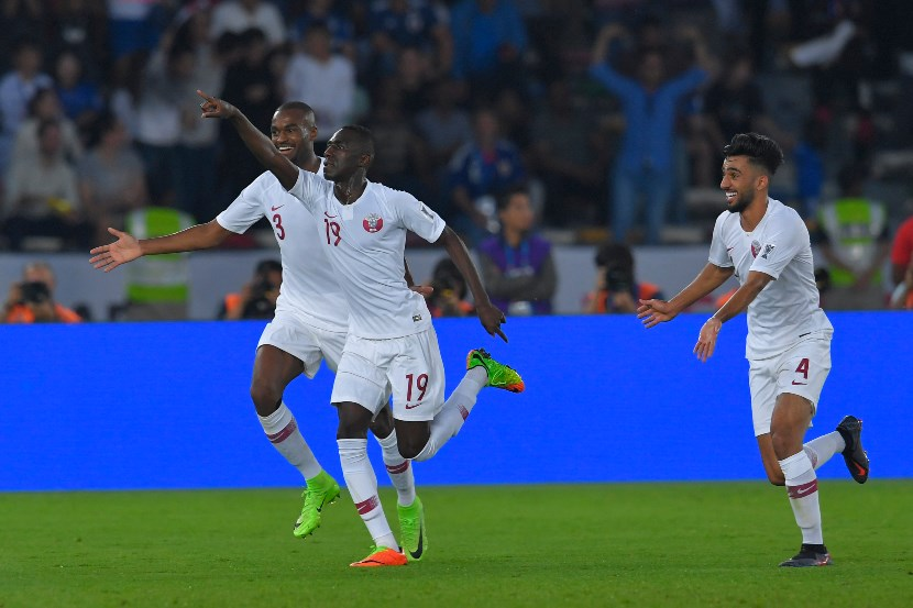 Almoez Ali has starred for Qatar lately with nine goals in his last eight international appearances. (Getty Images)