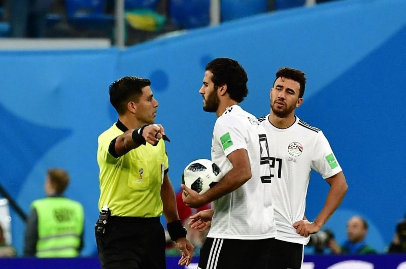 Trezeguet and Marwan Mohsen