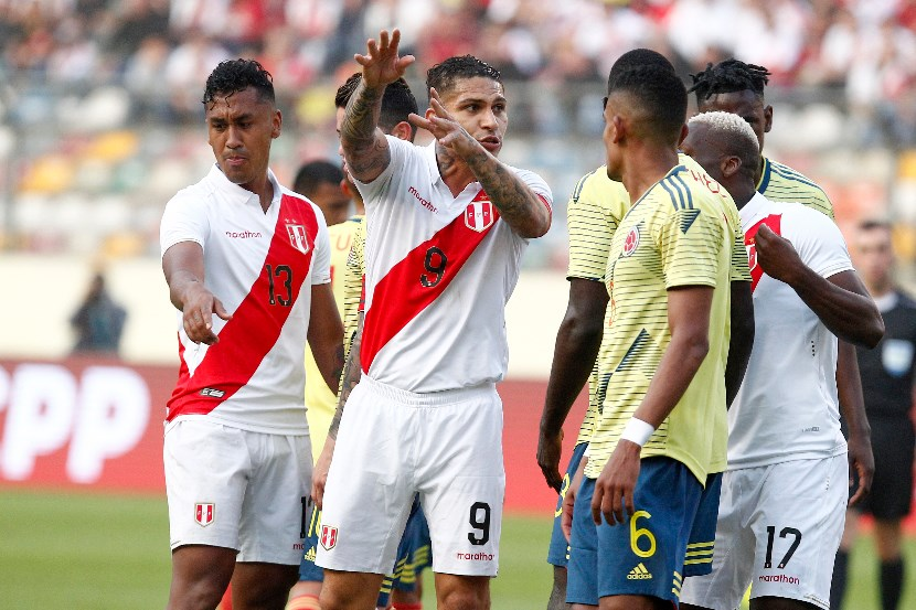 Veteran Peru striker Paolo Guerrero remains as passionate as ever. (Getty Images)