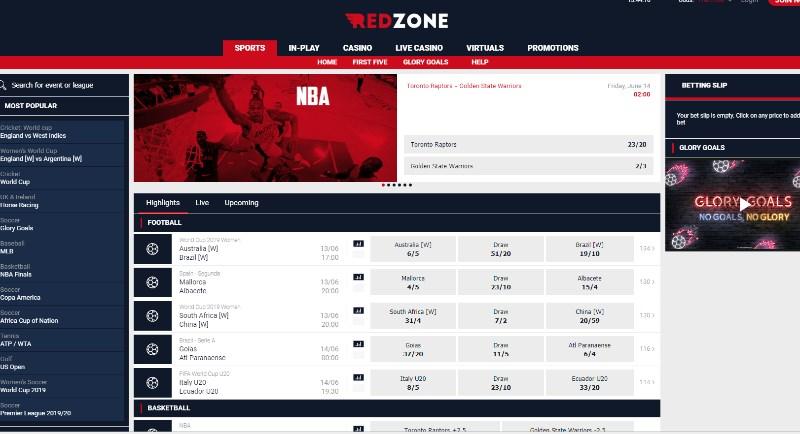 RedZoneSports Home