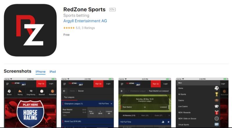 RedZoneSports Mobile App