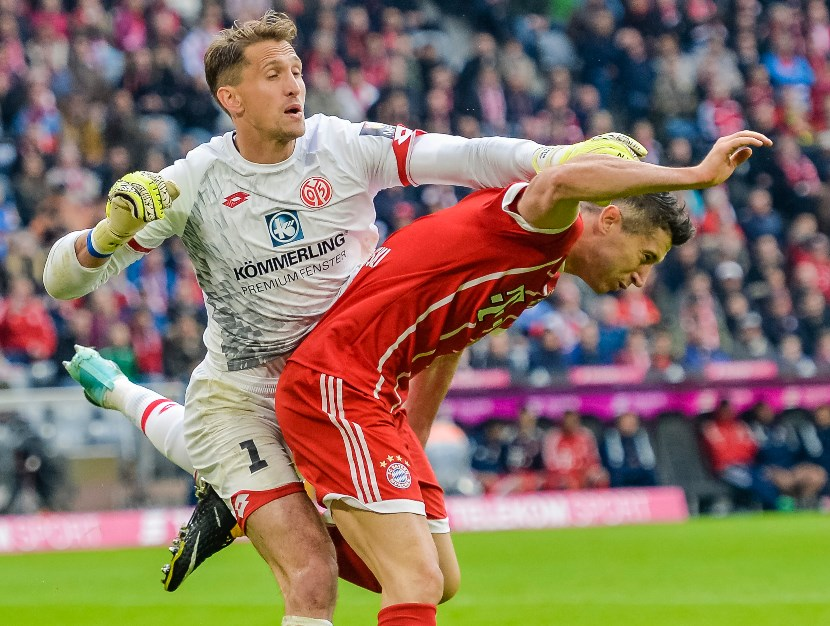 René Adler is a notable player for FSV Mainz 05. (Getty Images)