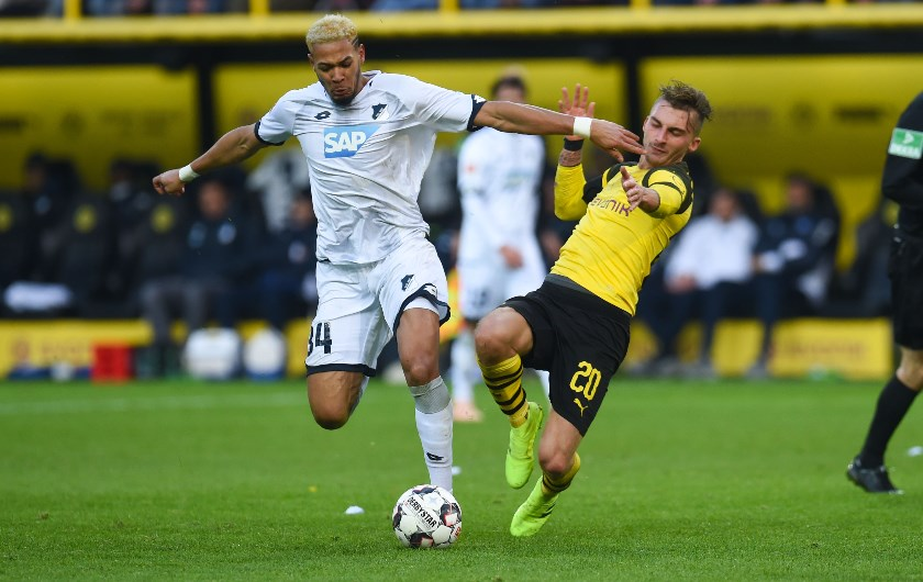 TSG Hoffenheim in action against Bundesliga giants Borussia Dortmund. (Getty Images)