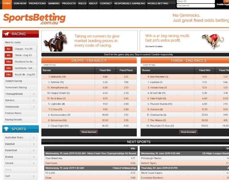 Sportsbetting.com.au Home