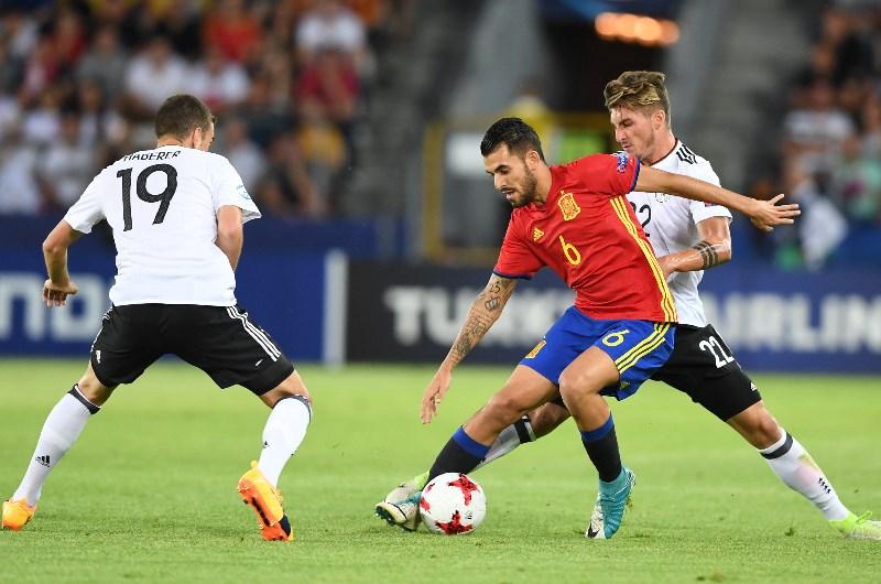 ผลการค้นหารูปภาพสำหรับ Spain(U21) vs Germany U21