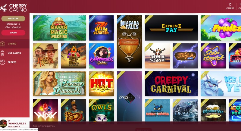 Cherry Casino Review
