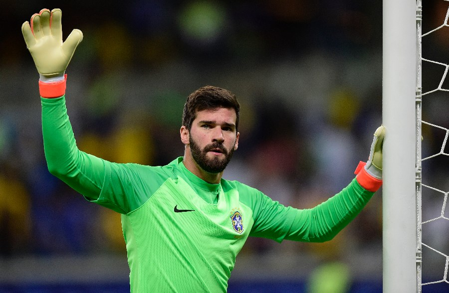 Alisson Becker has not yet been beaten in the 2019 Copa America. (Getty Images)