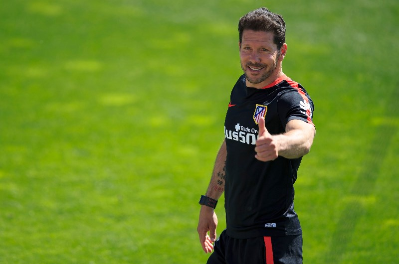 Diego Simeone has revolutionised the club culture at La Liga team Atletico Madrid. (Getty Images)