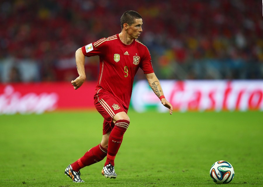 Fernando Torres starred for Spain at the European U19 Championship before making his senior team breakthrough. (Getty Images)