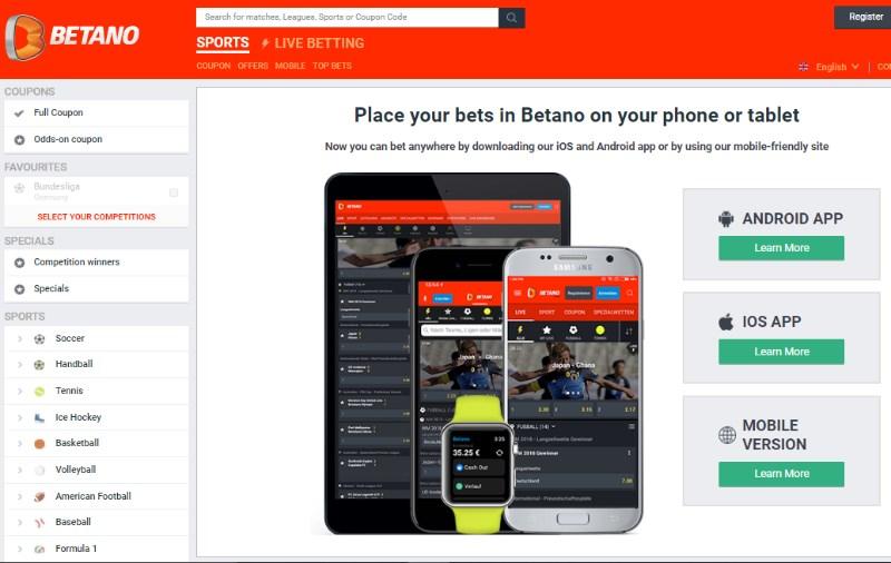 Betano Mobile App
