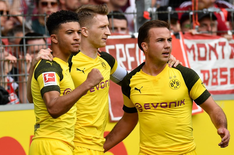 Jadon Sancho, Marco Reus and Mario Gotze have all shone for Borussia Dortmund. (Getty Images)