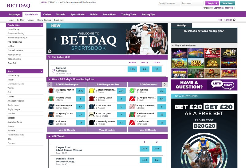 betdaq sportsbook review