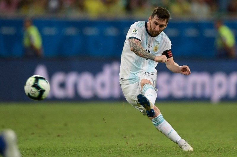 Lionel Messi has scored five goals in his last four appearances for club and country. (Getty Images)