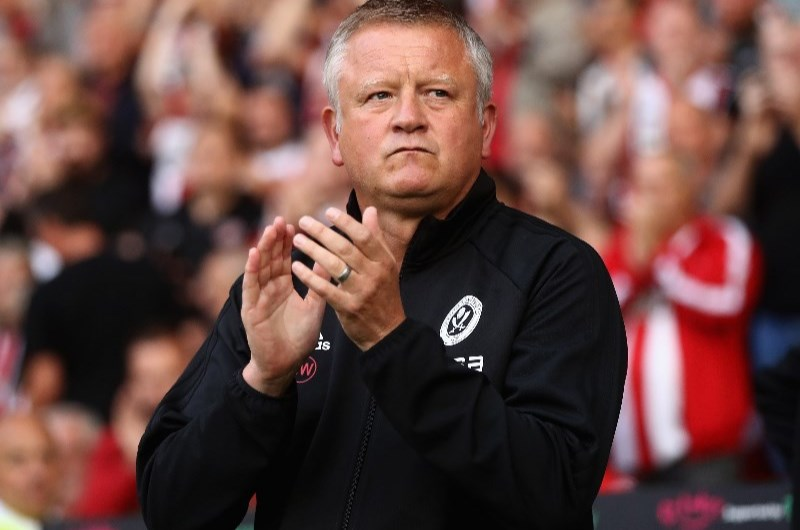 Chris Wilder's Sheffield United are in good home form and stand a chance of winning the EFL Championship title. (Getty Images)