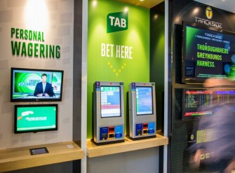 TAB betting terminal
