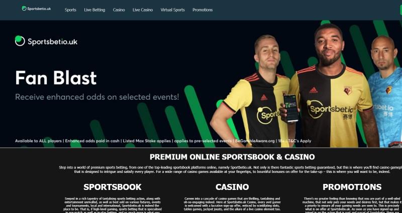 Sportsbet.io bookmaker