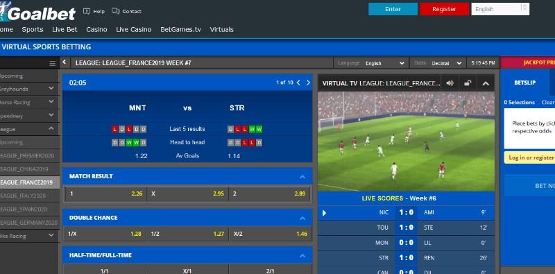 Goalbet Virtuals