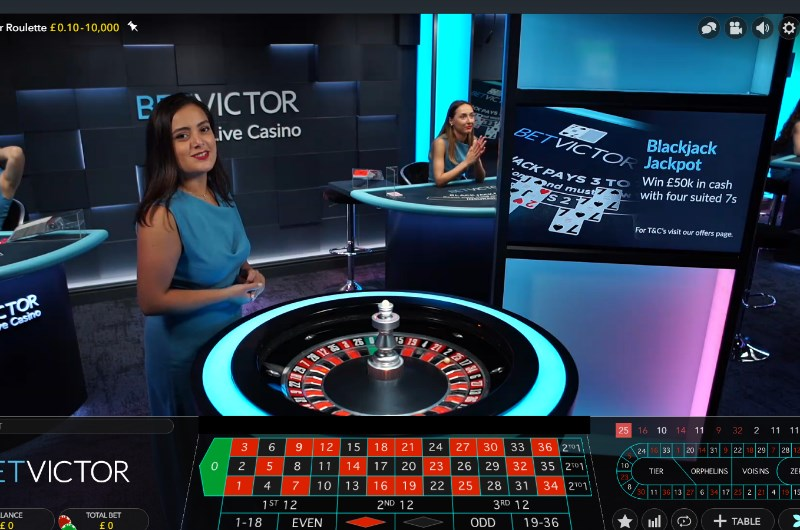 Betvictor Evolution Live Casino Launch Review Games
