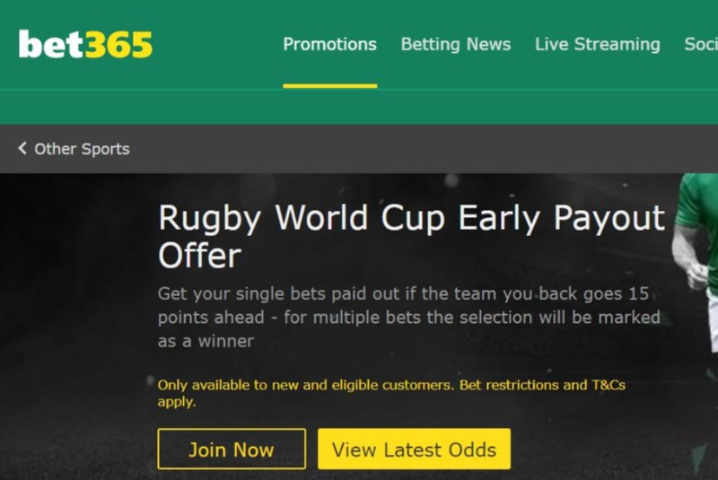 Bet365 world cup betting odd real madrid betting