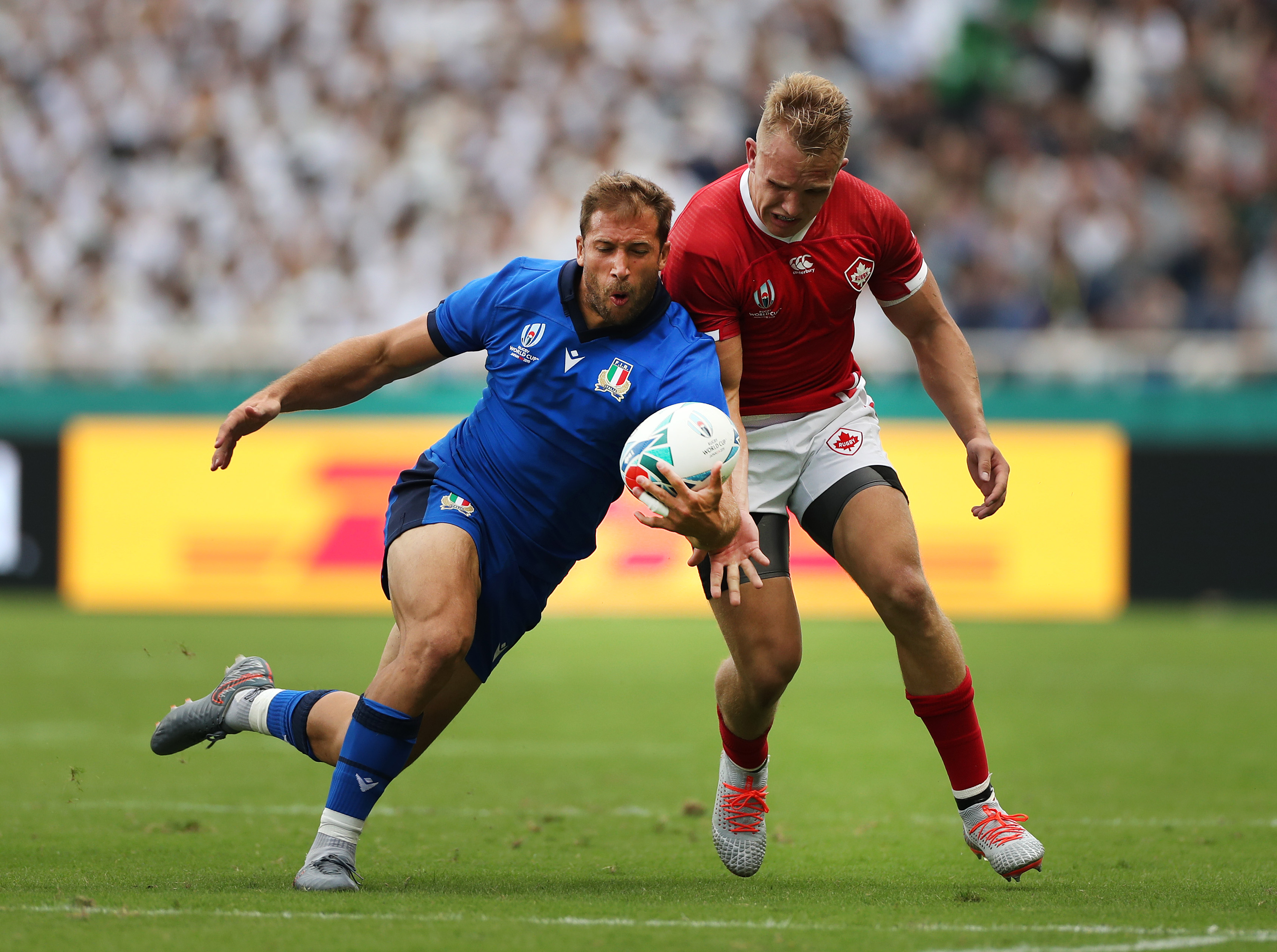 Italy vs canada rugby world cup