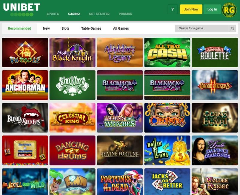 Unibet Casino NJ