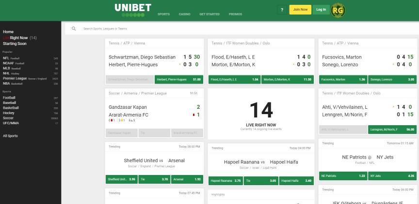 Unibet NJ Sports