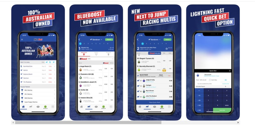 Bluebet mobile App