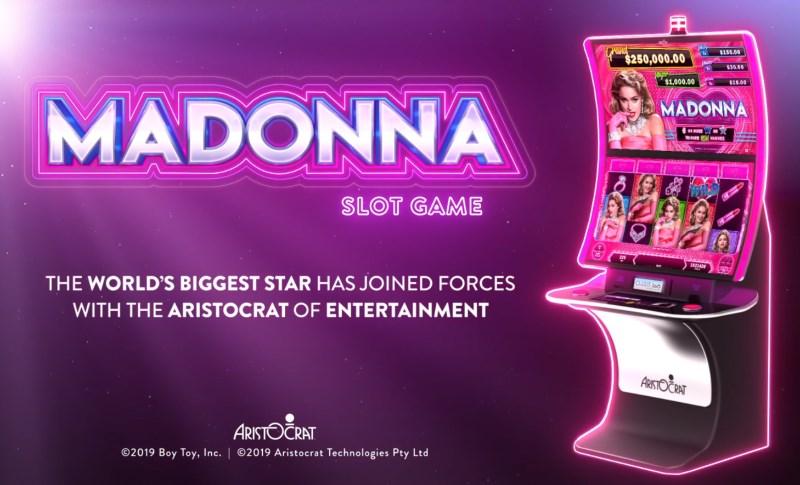 Madonna Slot Game