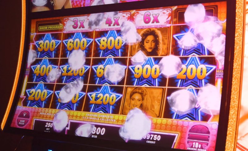 Madonna Slot Game Win and jackpot