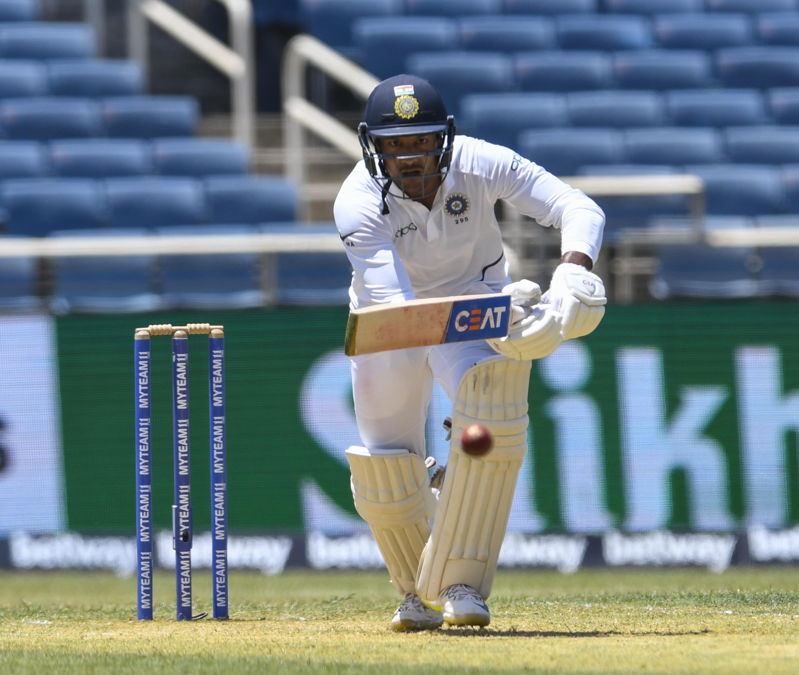 Mayank Agarwal test cricket