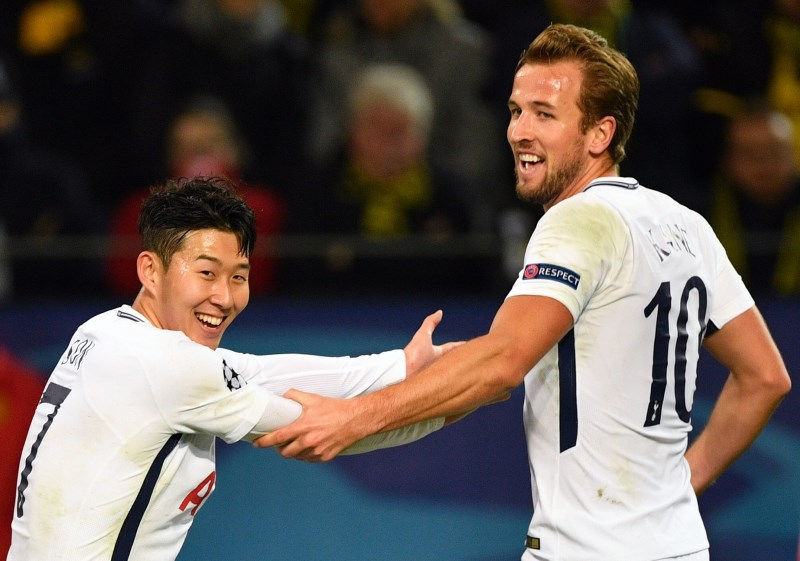 Harry Kane Son Heung-Min