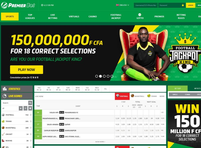 Kings sports betting africa fixture good websites for sports betting