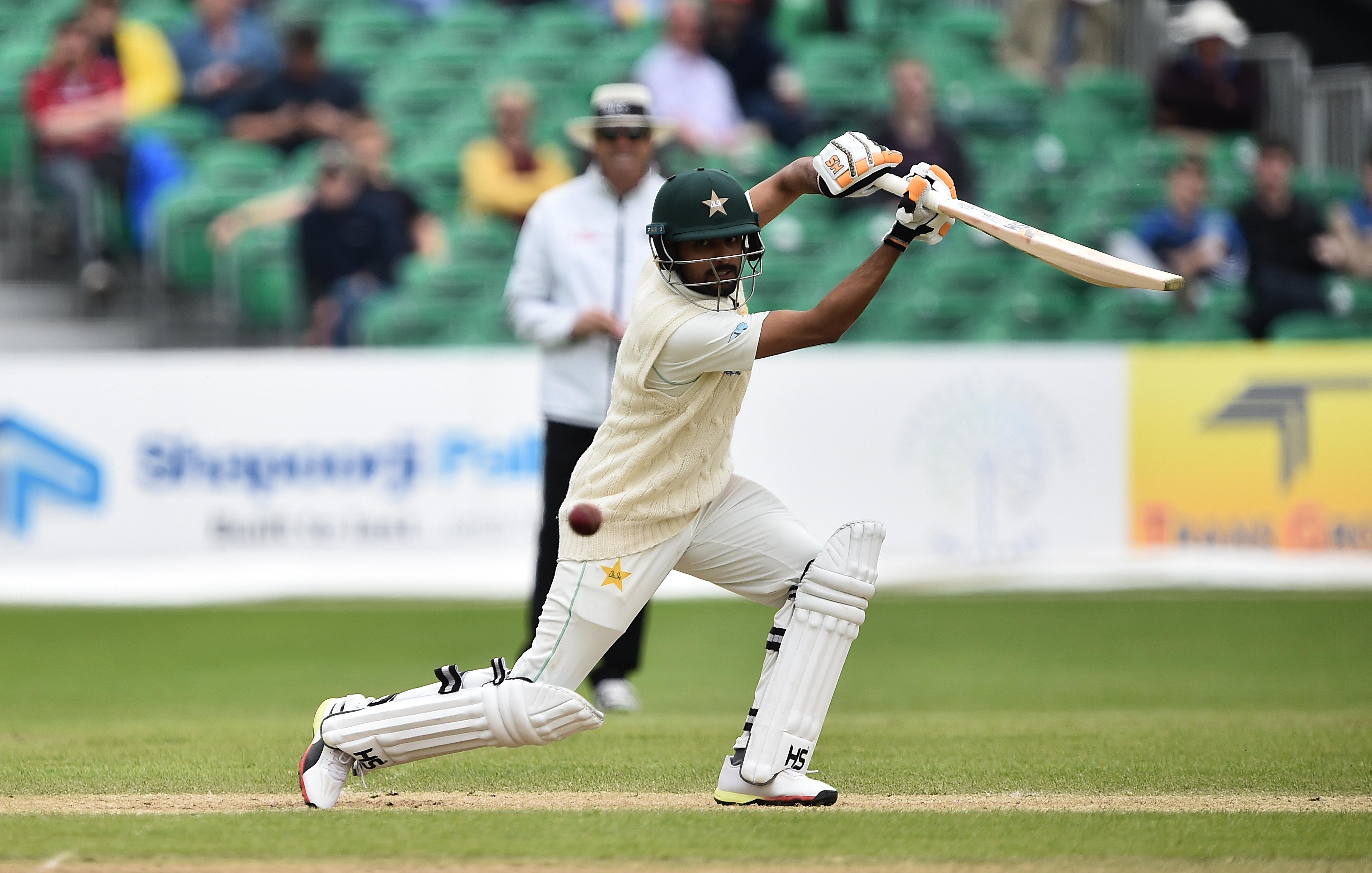babar azam test match batting