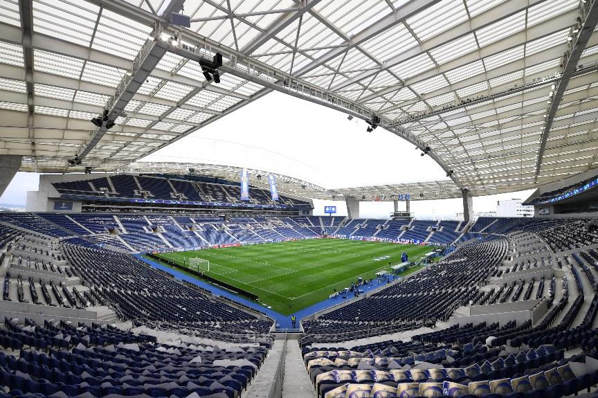Estádio do Dragão view