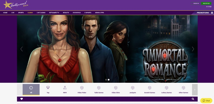 Hollywoodbets Casino UK
