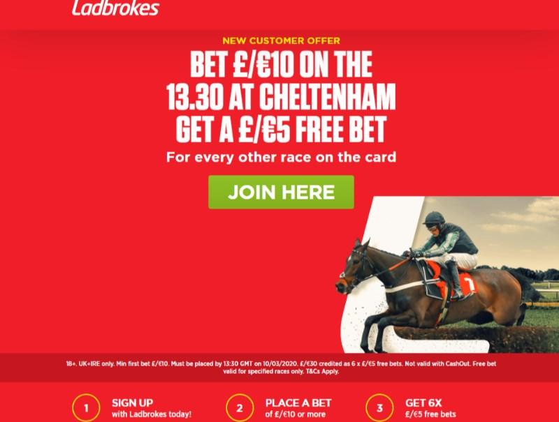 Ladbrokes sports betting bet 10 get 30 randombytes crypto currency