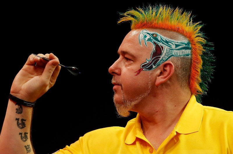 Michael Smith Peter Wright