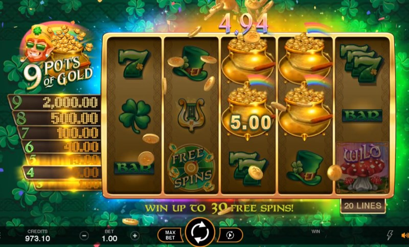 Spiele 9 Pots Of Gold - Video Slots Online