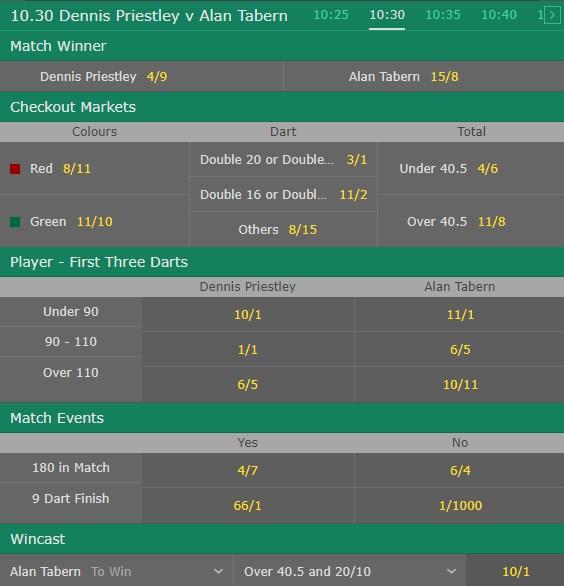 virtual darts bet365