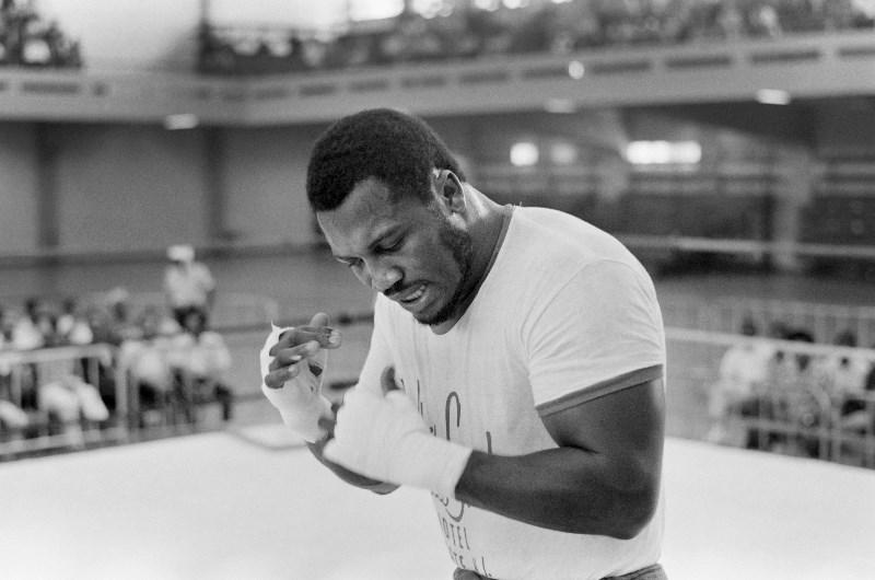 Joe Frazier boxing