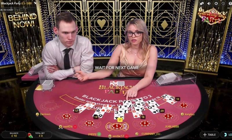 Live Blackjack Game