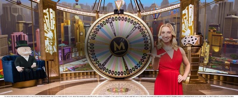 Monopoly Live Roulette