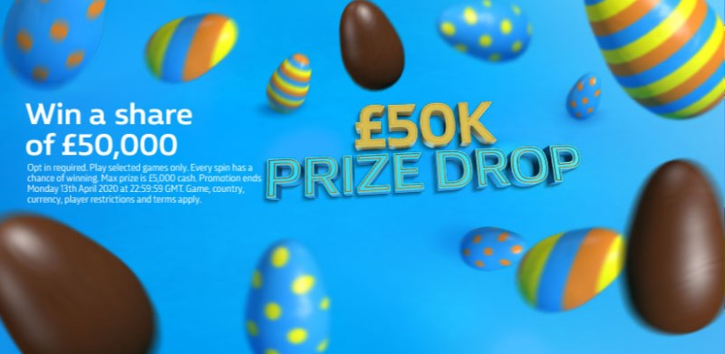 William Hill Games £50k Prize Drop