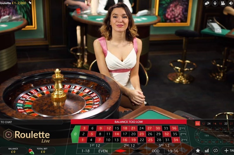 Best Live Roulette Online
